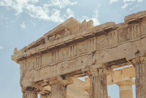 Frisos del Partenón de Atenas