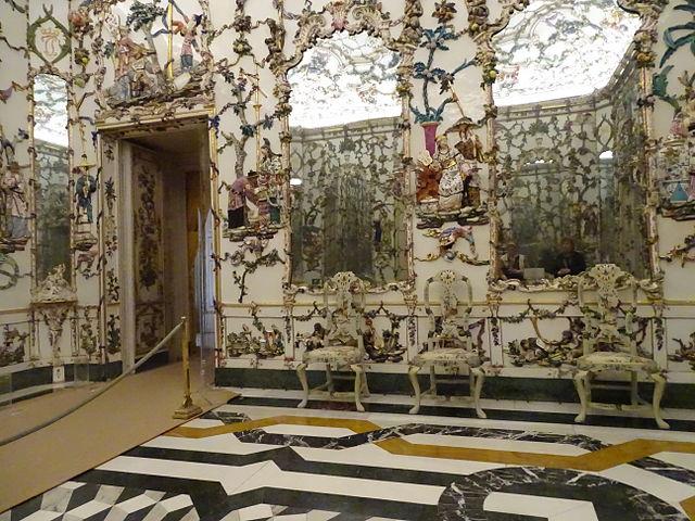 Sala de Porcelana del Palacio Real de Aranjuez