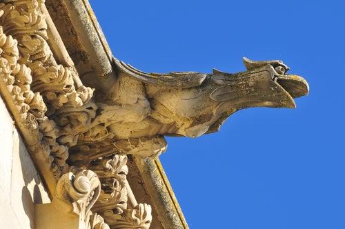 Gárgola en la catedral de Cuenca