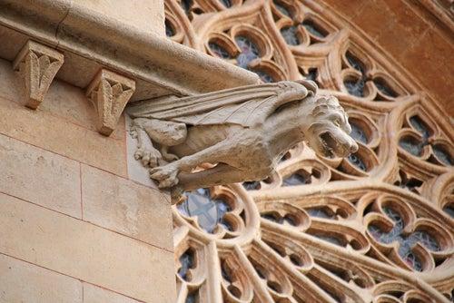 Gárgola en la Catedral de Palma de Mallorca