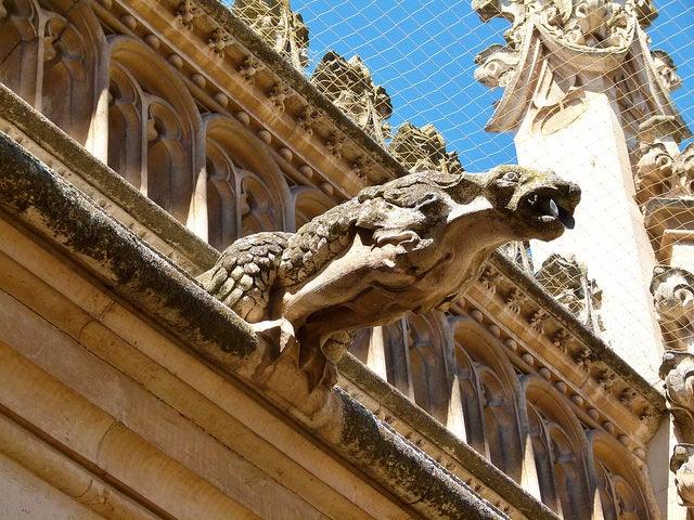 Gárgolas en San Juan delos Reyes en Toledo