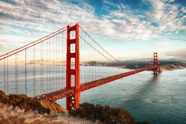 Historia de la construcción del Golden Gate de San Francisco