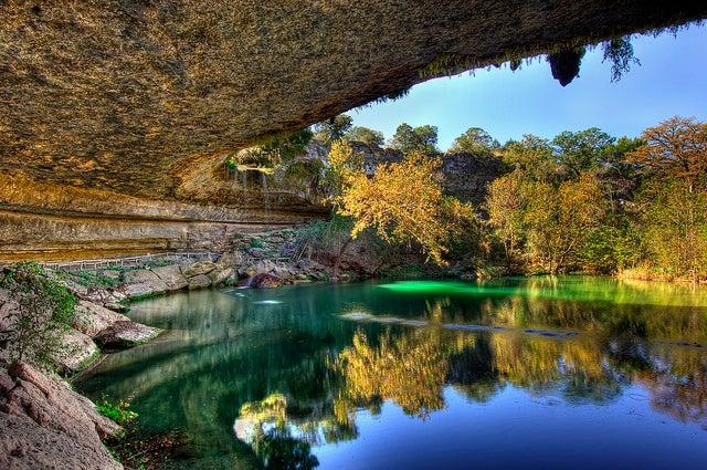 Piscinas naturales increíbles, Hamilton Pool