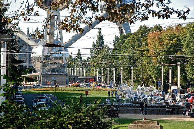 Heysel Park en Bruselas