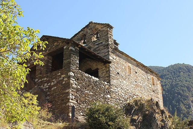 Iglesia de San Romá en Andorra