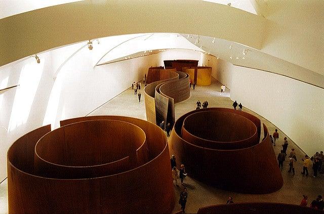 Curiosidades del Guggenheim, entrada al museo