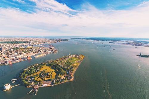 Isla del Gobernador en Nueva York