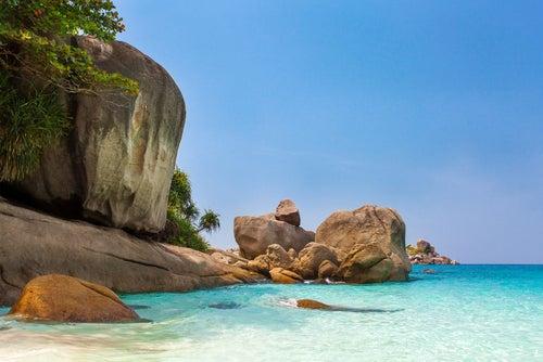 Islas Similan en Tailandia