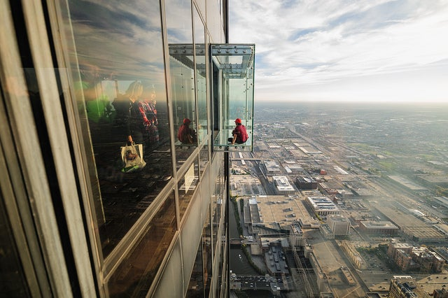 The Ledge en la torre Sears