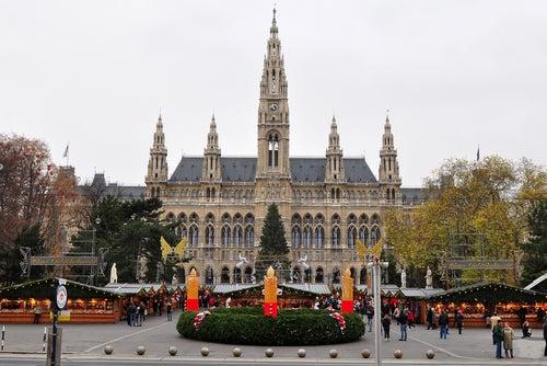 Mercadillo de Navidad en Viena