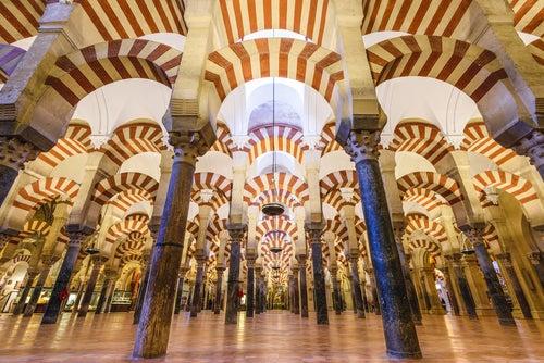 Mezquita de Córdoba, uno de los monumentos españoles más bellos