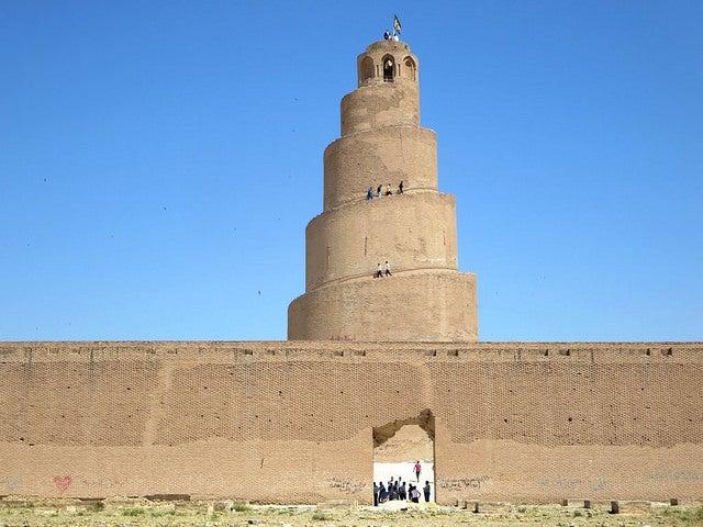 MEzquita de Samarra, uno de los monumentos desaparecidos