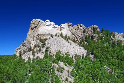 Curiosidades del Monte Rushmore, vista general