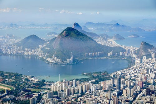 Morro de Dois Irmaos en Río de Janeiro