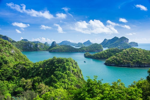 Mu Ko Ang Thong en Tailandia