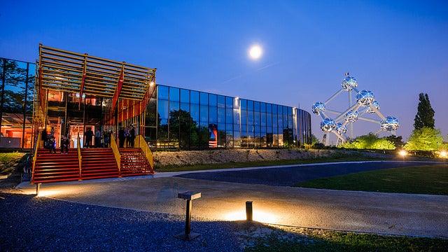 Museo Adam cerca del Atomium de Bruselas