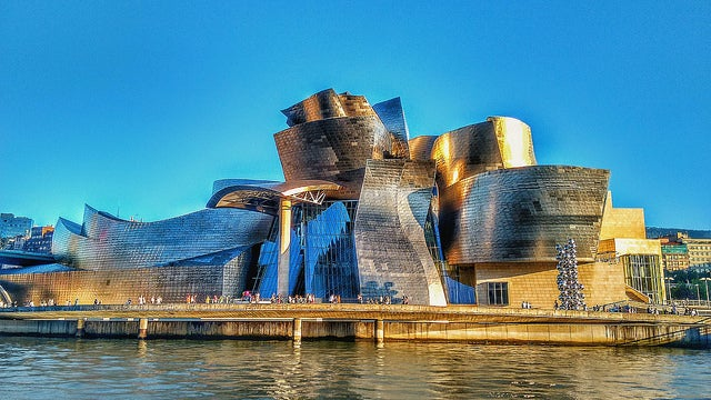 Visitar el Guggenheim, imagen del edificio