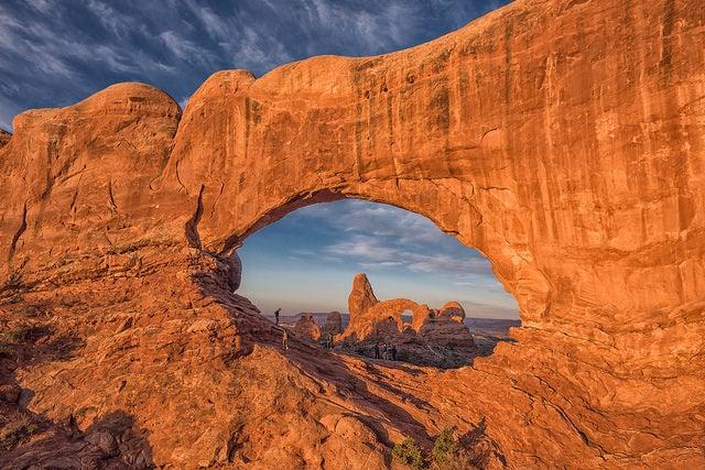 Parque Nacional Los Arcos, uno de los paisajes rocosos más sorprendentes