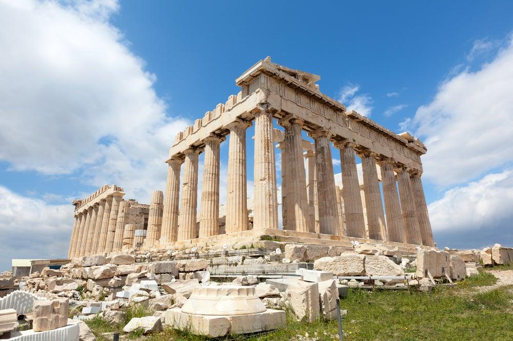 El Partenón de Atenas, el símbolo del florecimiento de Grecia