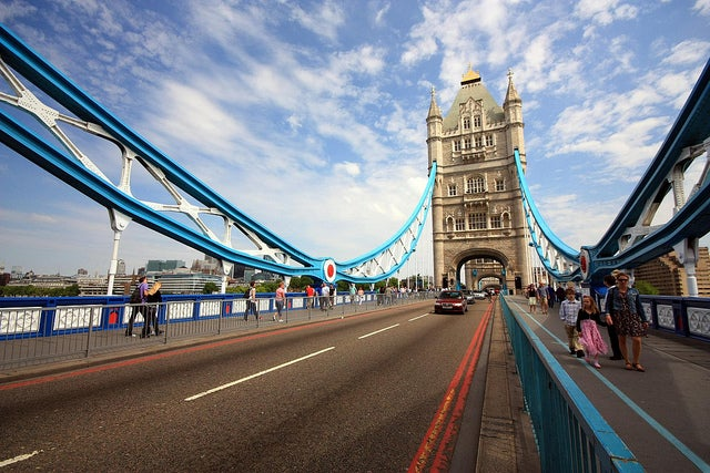 Pasarela peatonal del Puente de la Torre de Londres
