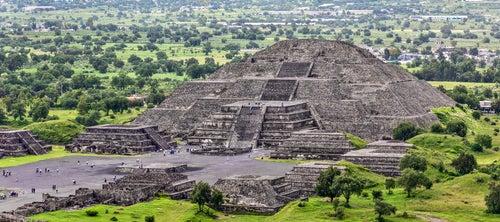 Pirámide en Teotihuacán