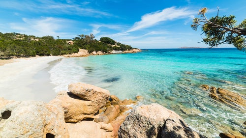 Playas de Cerceña: playa Capriccioli