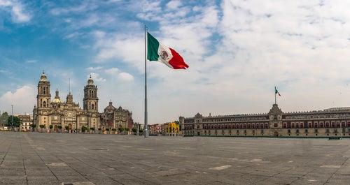 Plaza del Zócalo en México