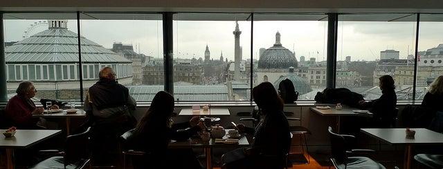 Portrait Restaurant para comer cerca de Trafalgar Square