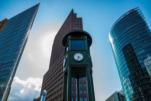 Postdamer Platz en Berlín