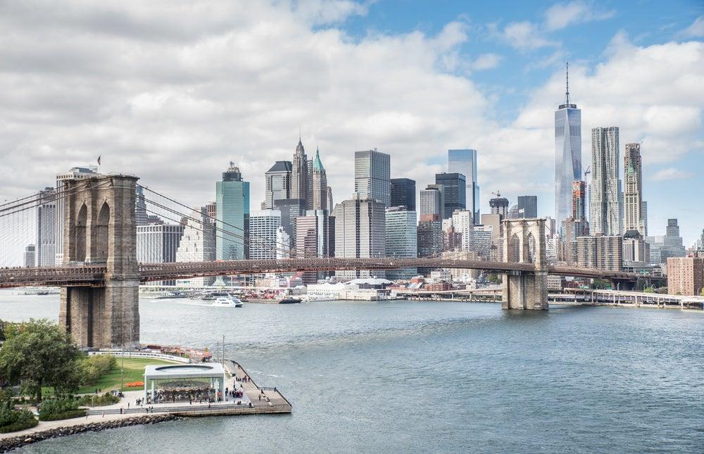 Puente de Brooklyn, uno de los lugares más transitados de Nueva York
