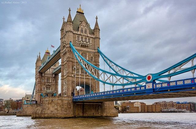 Curiosidades del Puente de la Torre de Londres, vista del puente