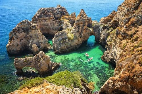 Ponta da Piedade en el Algarve
