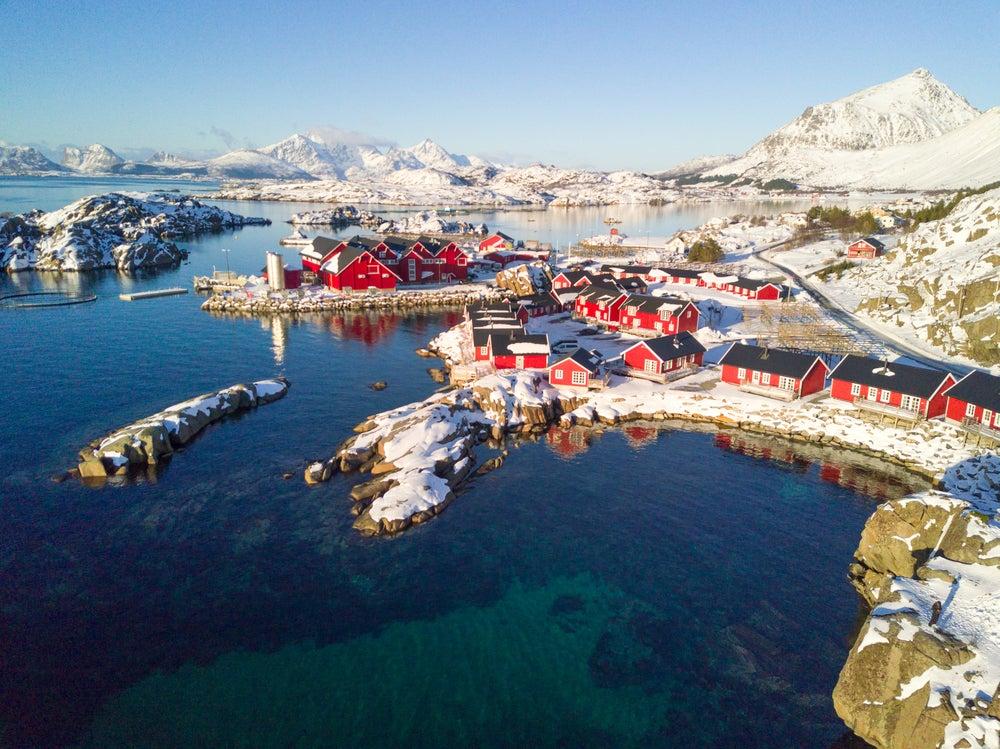 7 paisajes de invierno del norte de Europa