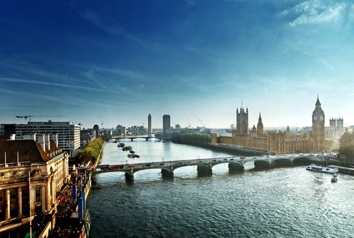 RíoTámesis en Londres