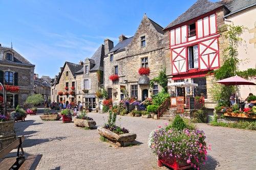 Rochefort-en-Terre uno de los pueblos de Bretaña más bonitos