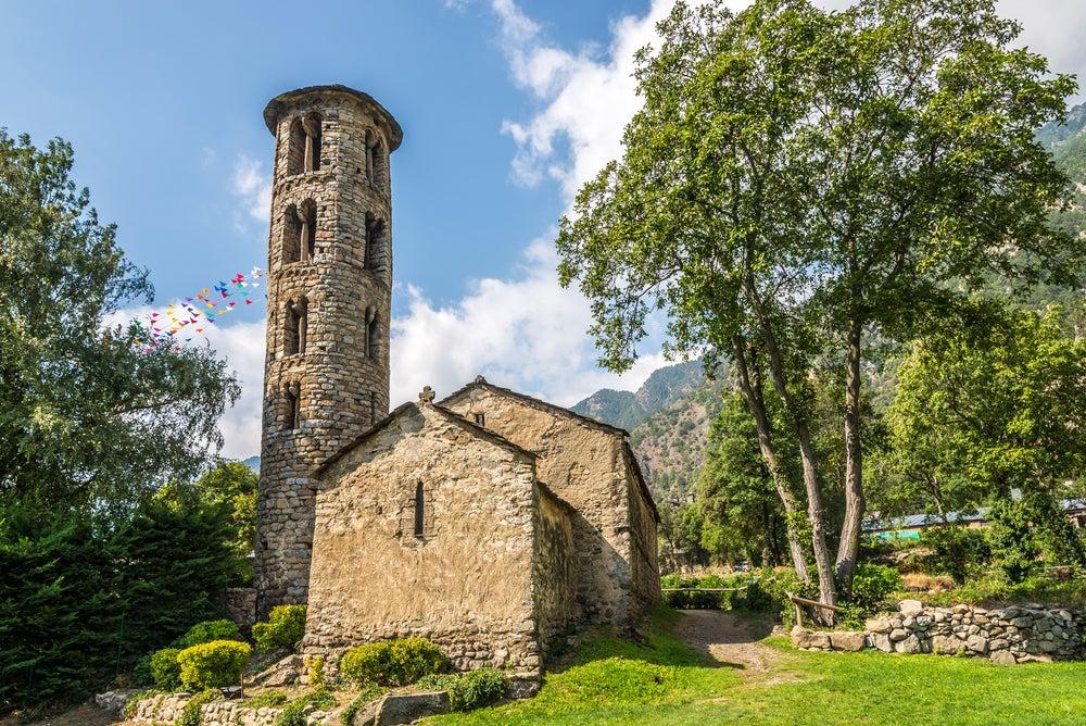 Iglesia de Santa Coloma en Andorra