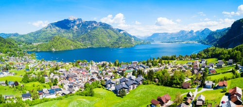 St. Gilgen en Austria