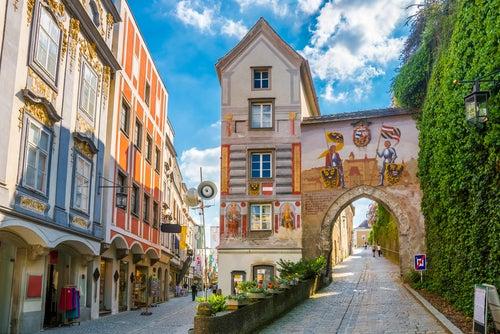 Steyr uno de los pueblos de Austria más bonitos