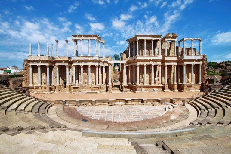 Algunas curiosidades del teatro romano de Mérida