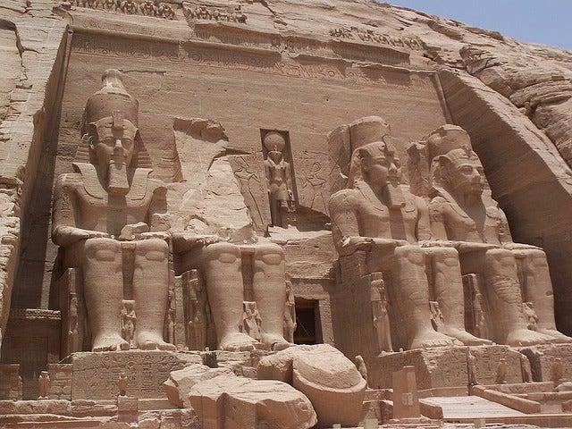 Visitamos los fabulosos templos de Abu Simbel
