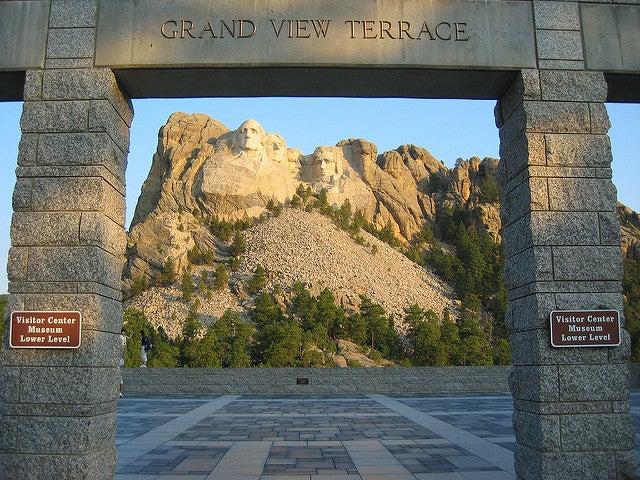 Terraza del monte Rushmore