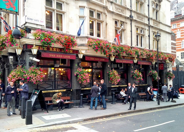 The Red Lion en Londres