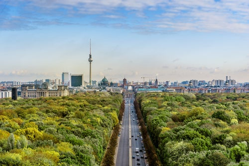 Tiergarten en Berlín