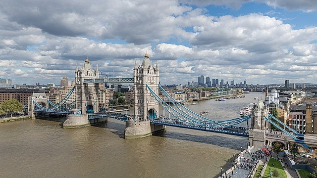 Vista del Puente de la Torre de Londres
