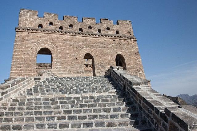 Torre en la Gran Muralla China