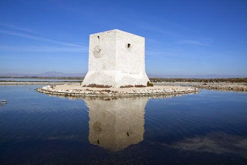 Torre vigía en Santa Pola