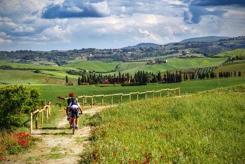 Rutas en bicicleta por el Mediterráneo: Toscana