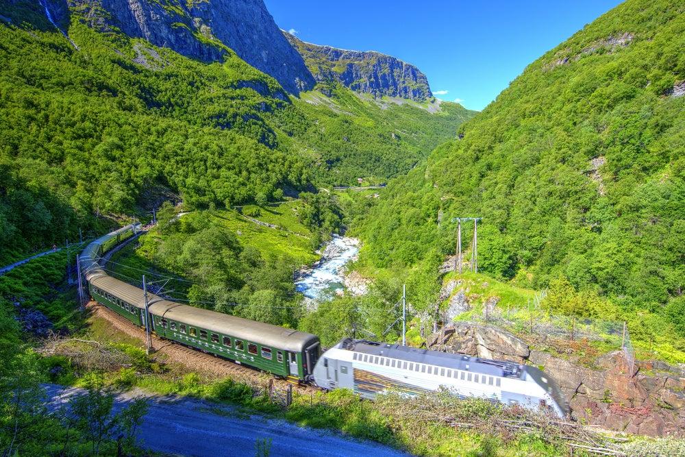 Tren del Interrail europeo