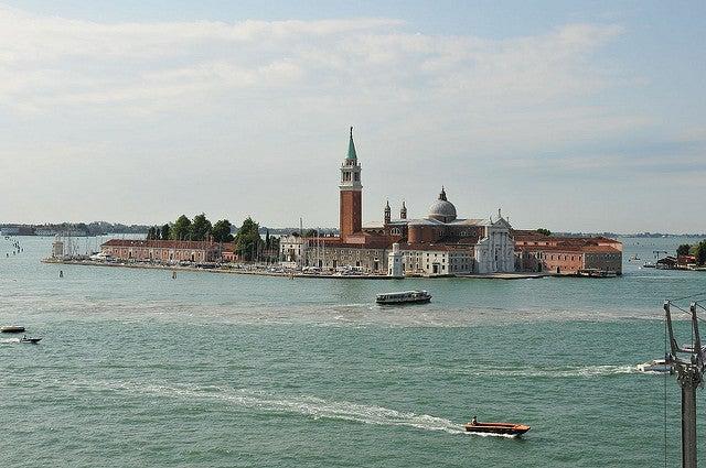 Venecia desde el restaurante Terrazza