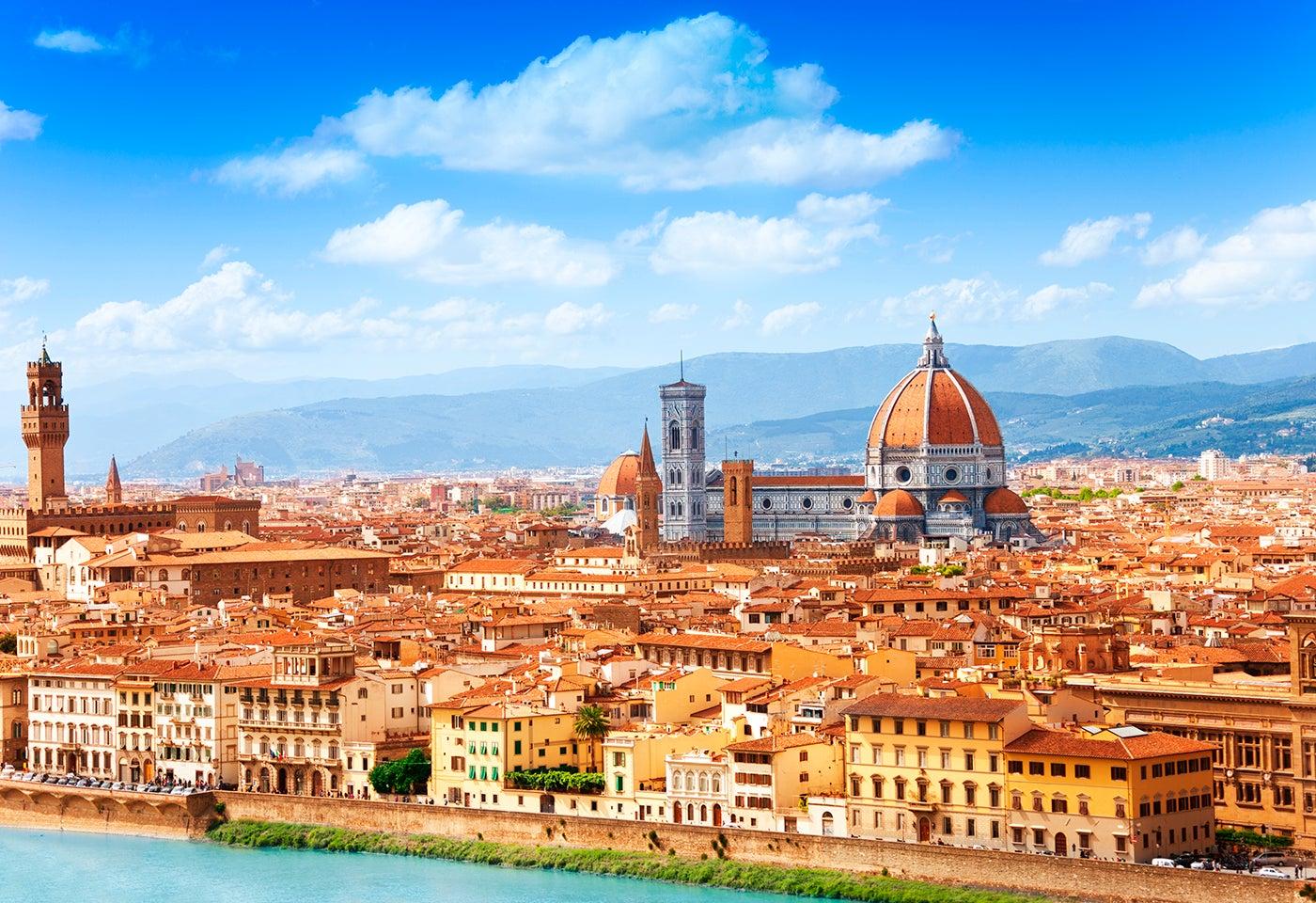 4 lugares de interés en Florencia, la capital de la Toscana